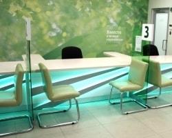 Мебель для отделения «Сбербанка»