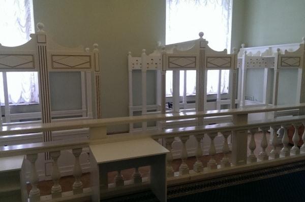 Гардеробная в таврическом дворце
