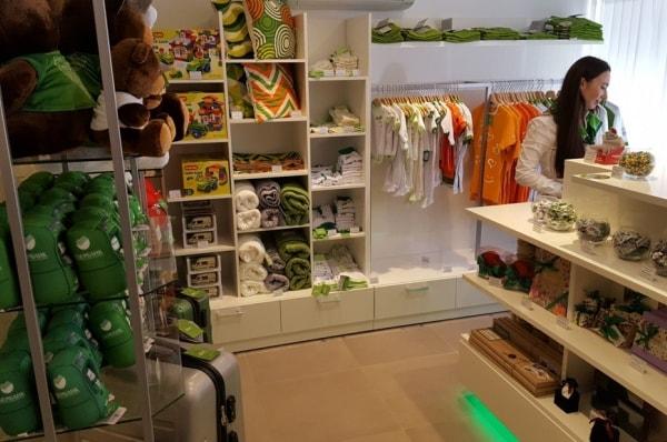 Фирменный магазин Сбербанка