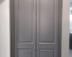 Шкаф в нишу малый
