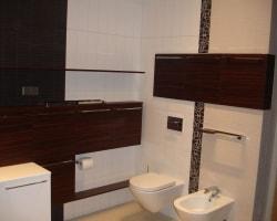 Гарнитур для ванной комнаты из массива дуба
