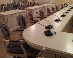 Конференц-стол в Таврическом дворце